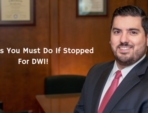 5 Things You Must Do If Stopped For DWI!