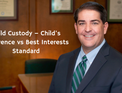 Child Custody – Child's Preference vs Best Interests Standard