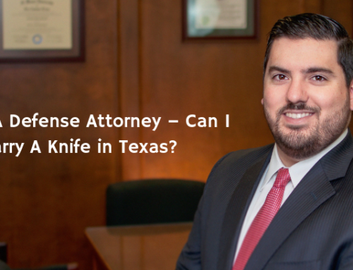 Asking A Defense Attorney – Can I Carry A Knife in Texas?