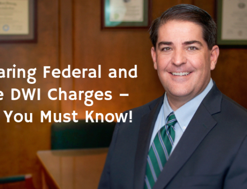 Comparing Federal and State DWI Charges – What You Must Know!
