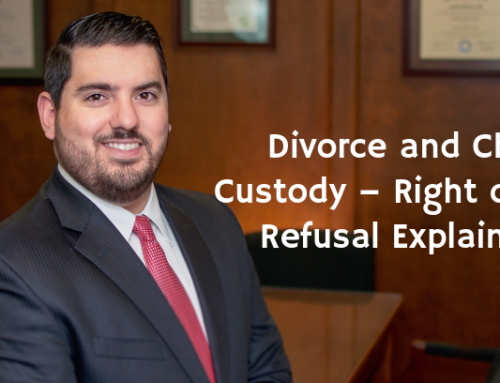 Divorce and Child Custody – Right of First Refusal Explained!