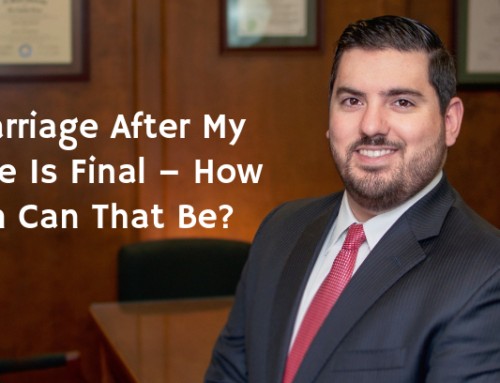 Remarriage After My Divorce Is Final – How Soon Can That Be?