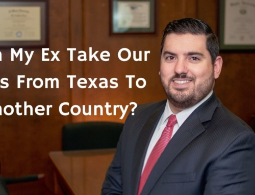 Can My Ex Take Our Kids From Texas To Another Country?