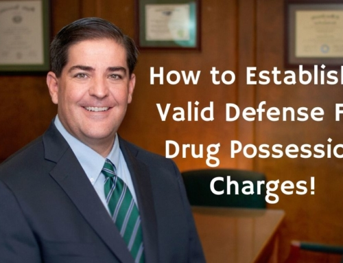 How to Establish A Valid Defense For Drug Possession Charges!
