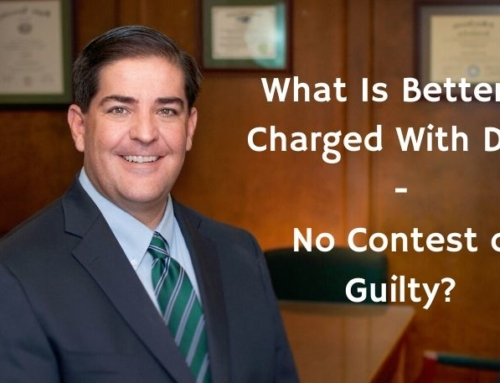 What Is Better If Charged With DWI – No Contest or Guilty?